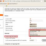 Configurer wifi Livebox