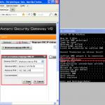 Configurer un DHCP sur Astaro