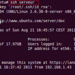 Créer un profil pour une connexion SSH