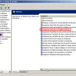 Windows 2003 : Créer une stratégie de groupe (GPO)