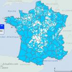 Cartes des communes exposées aux inondations