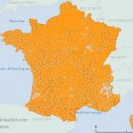 Nombre d'arrêtés pour catastrophes naturelles par communes