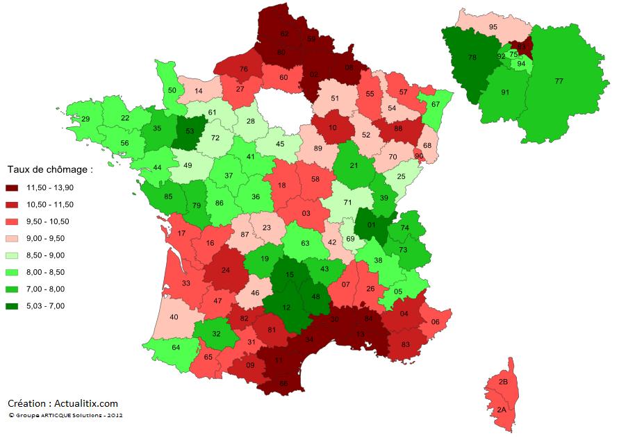 Ville Avec Le Plus Haut Taux De Chomage En France