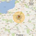 Tester le résultat de l'impact d'une bombe atomique