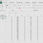 Regrouper des cellules Excel sans perdre de données