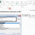 Calculer la médiane avec Excel