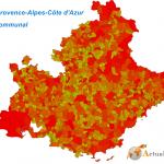 Shapefiles des régions au niveau communal
