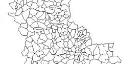 Shapefile Rhône