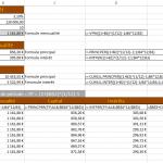 Calcul d'un prêt et d'un échéancier avec Excel