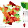 Revenu médian selon les départements en France