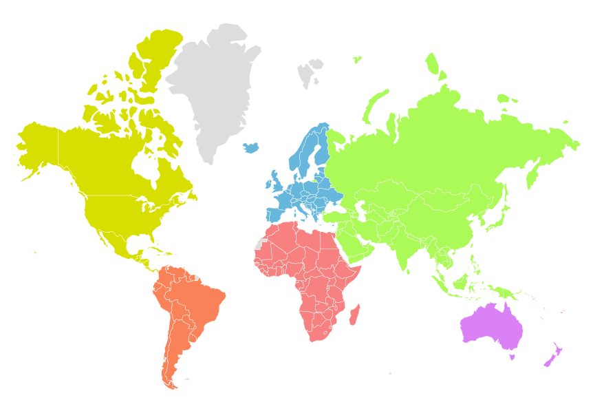 Statistiques mondiales - Atlas