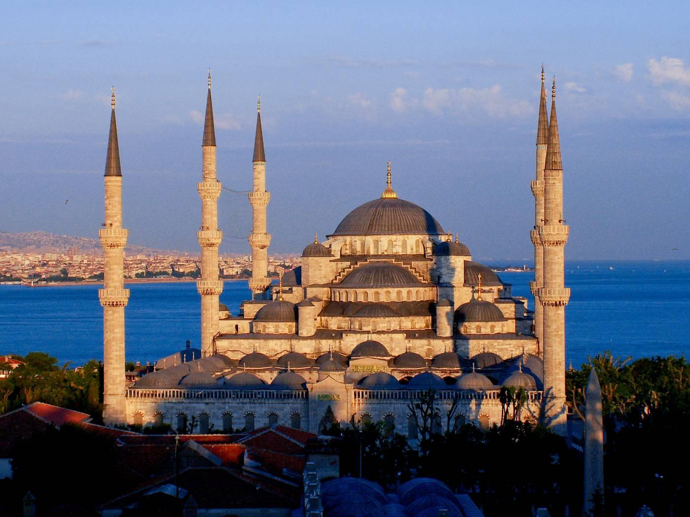Mosquée Bleue d'Istanbul - Tourisme au Moyen-Orient