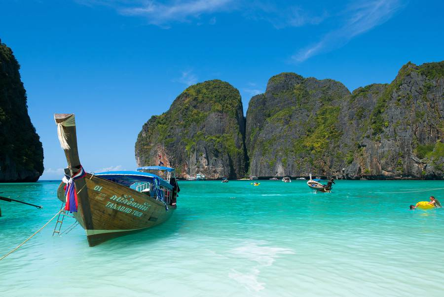 Phuket plage - Toursime en Asie