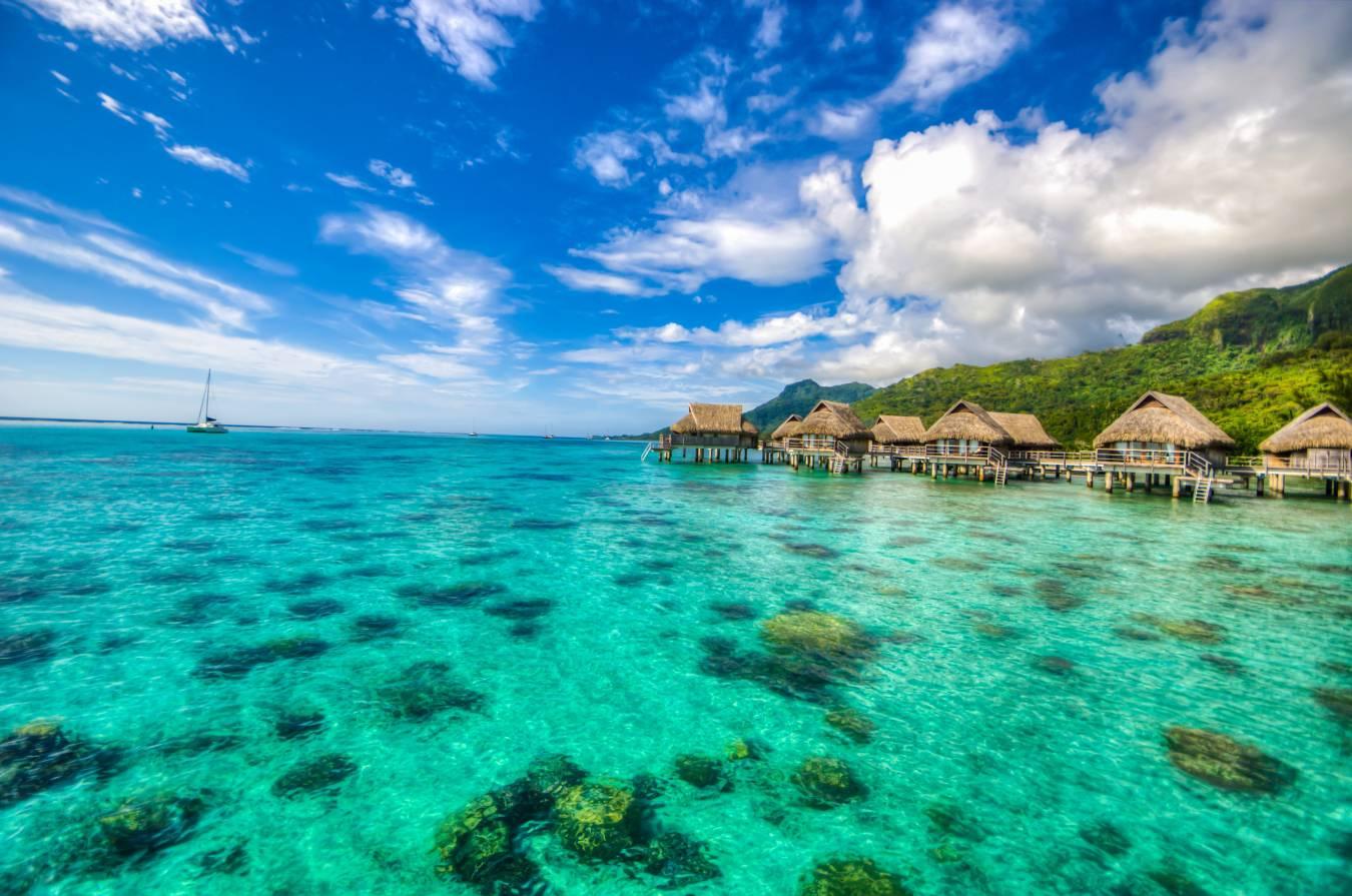 Plage à Tahiti - Tourisme en Océanie