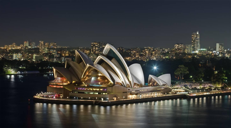 Tourisme en Océanie - Opéra de Sydney