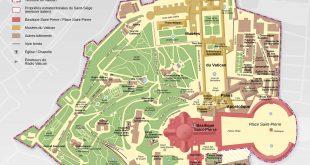 Plan du Vatican