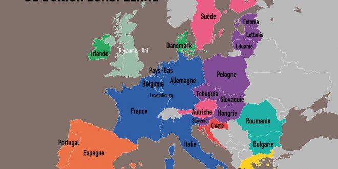 Liste des pays membres de l'Union européenne