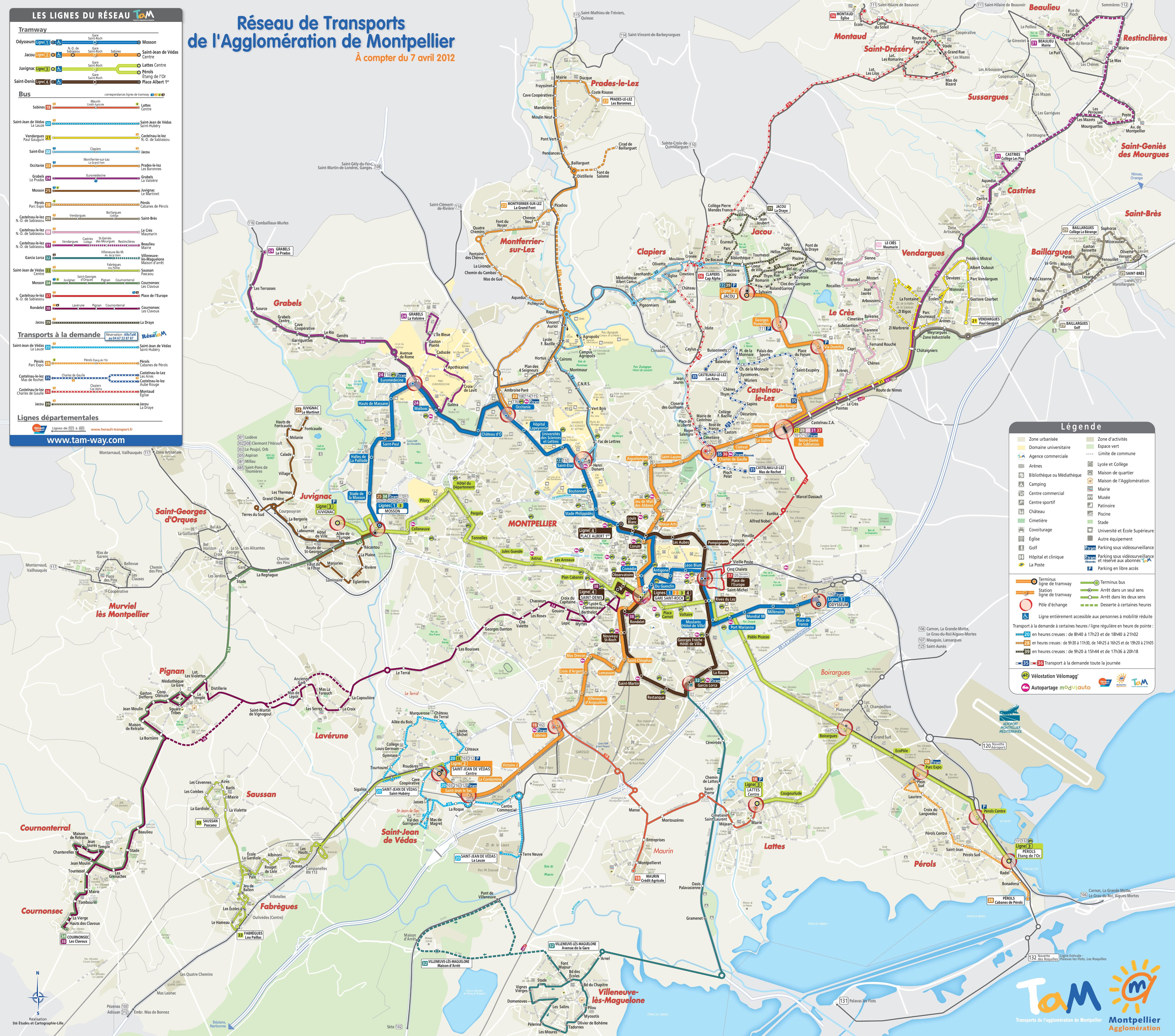 Carte de montpellier d couvrir la ville de montpelleir - Piscine place de l europe montpellier ...