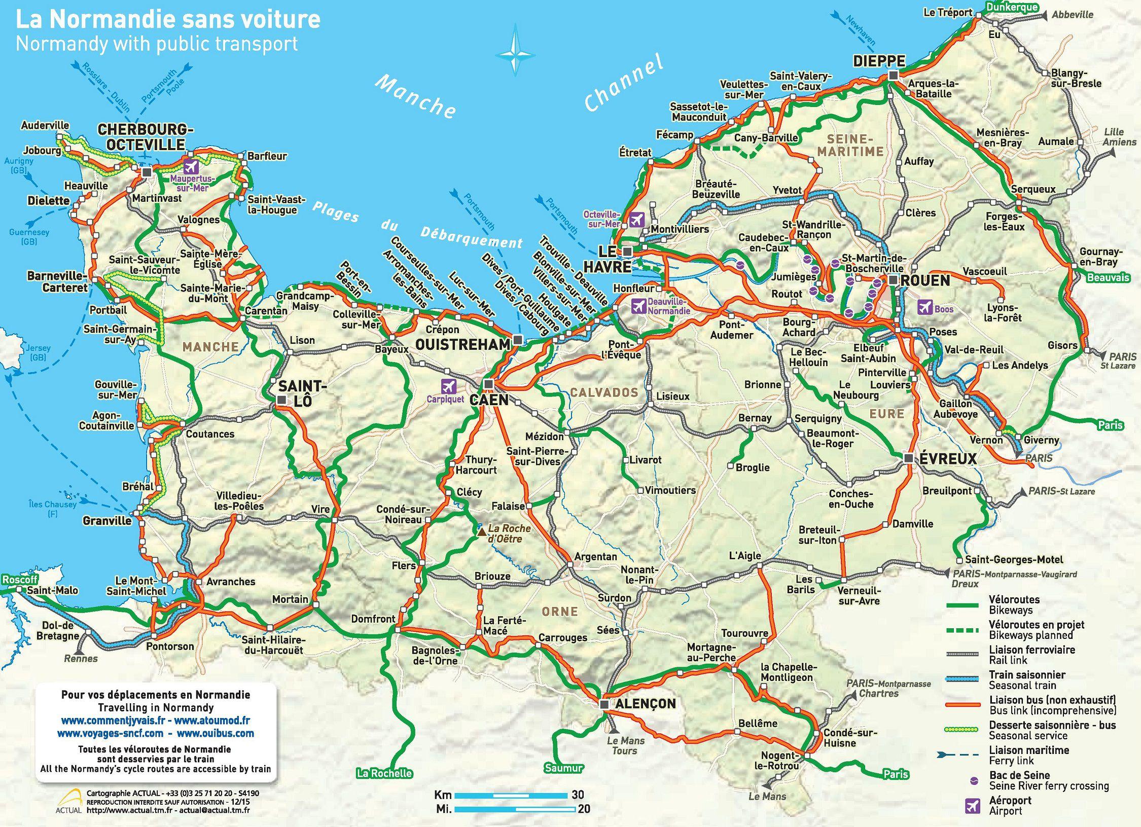 Carte De Haute Normandie Avec Les Villes