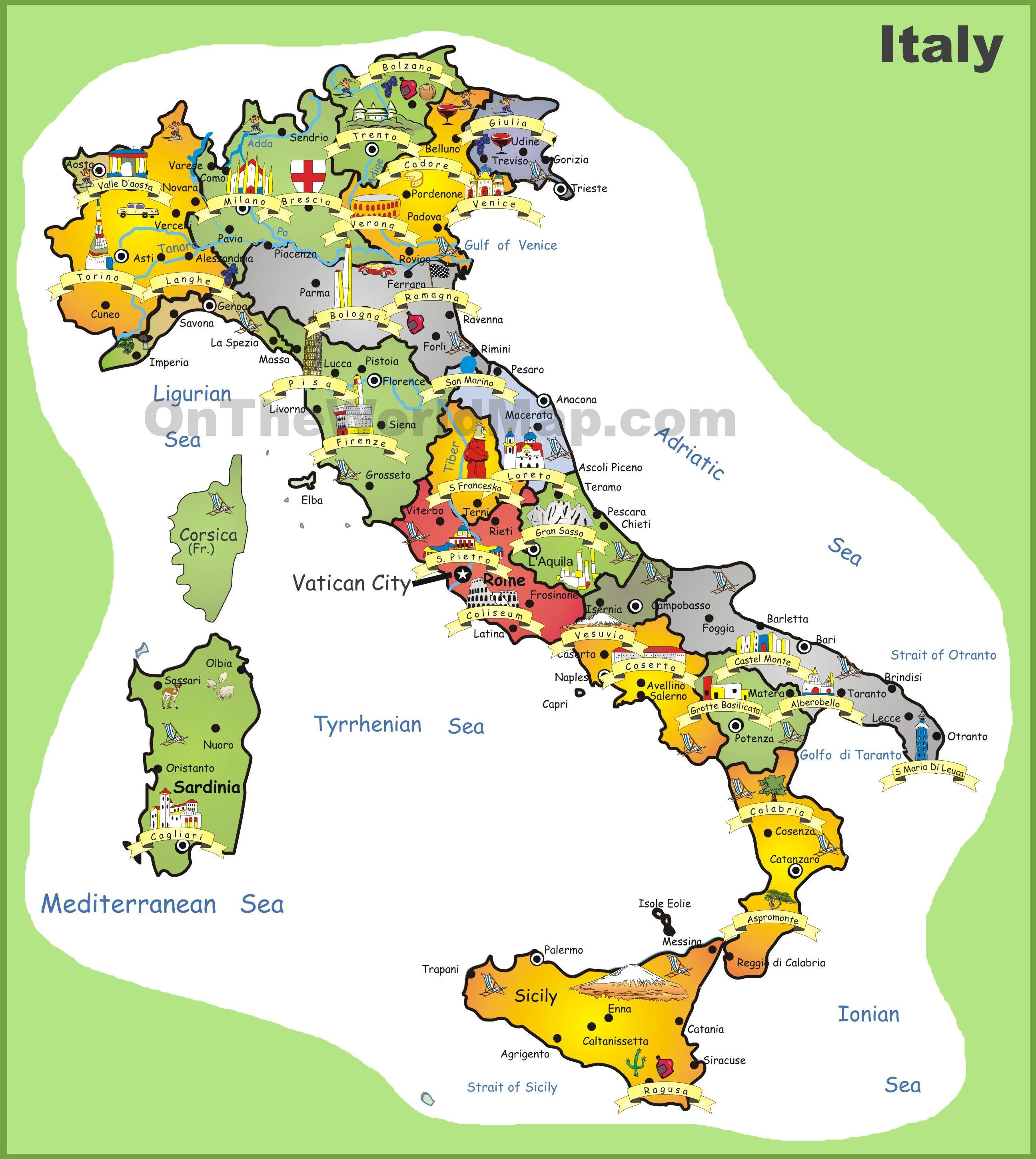 Villes  Ef Bf Bd Visiter En Italie Du Sud
