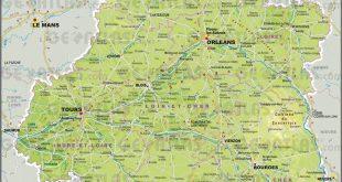 Carte Centre-Val de Loire (région)