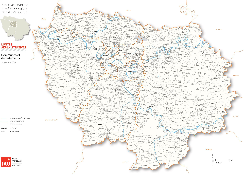Les Villes De L Ile De France