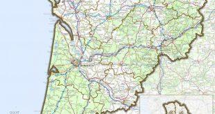 Carte de la Nouvelle-Aquitaine