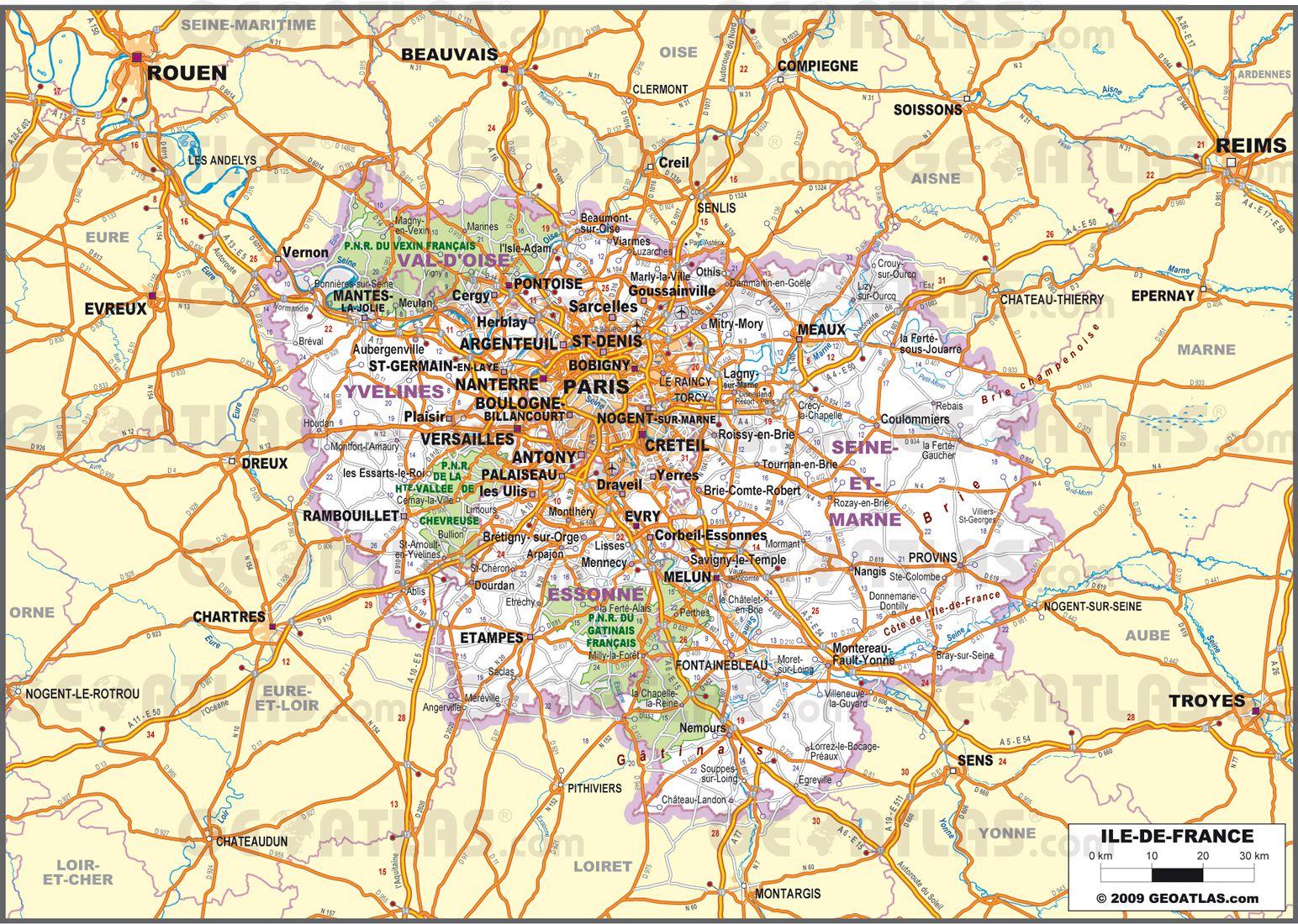 Image Carte De France Avec Villes