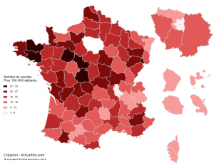 Suicides en France
