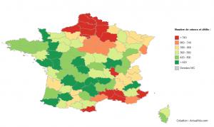 Crimes et délits en France