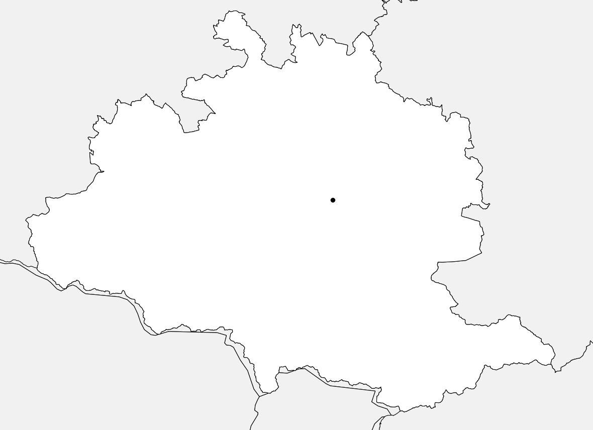 Carte vierge de l'Ariège