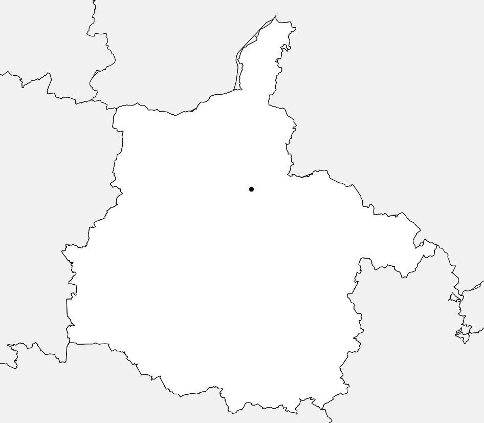 Carte vierge des Ardennes