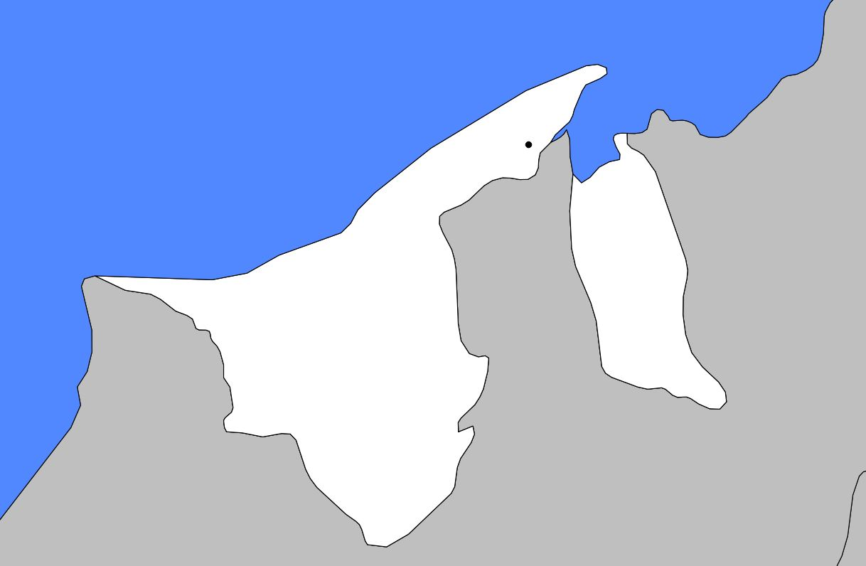 Carte vierge de Brunei