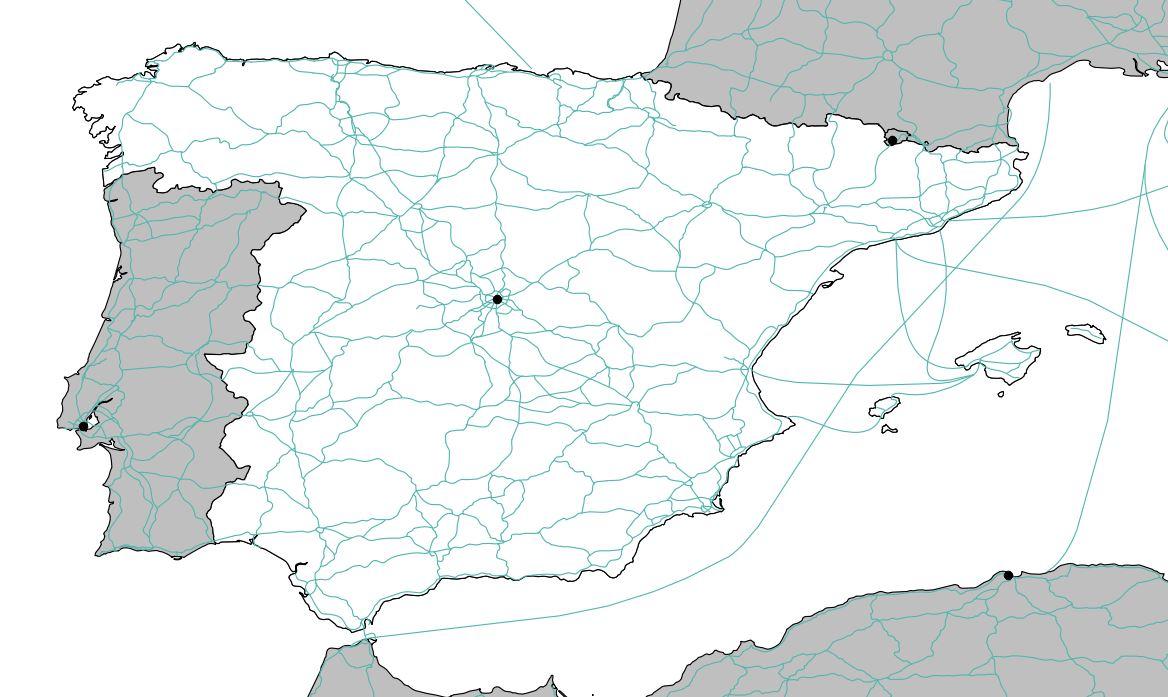 Carte Geographique Andalousie.Carte De L Espagne Decouvrrir L Espagne Sous Forme De Carte