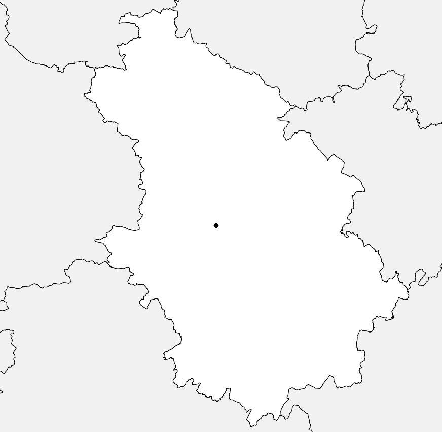 Carte vierge de la Haute-Marne