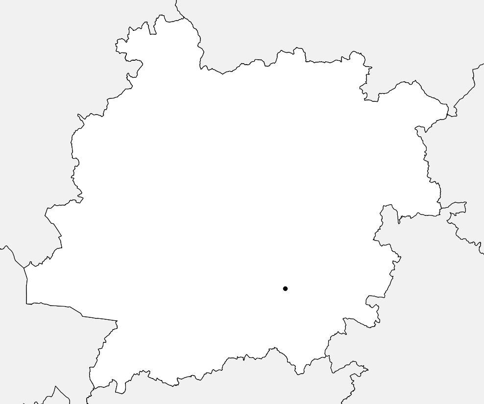 Carte vierge du Lot-et-Garonne