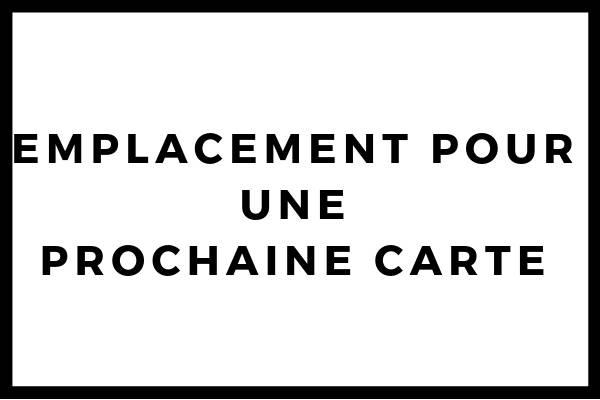 Carte vierge de la Picardie