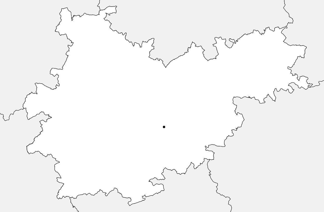 Carte vierge du Tarn-et-Garonne