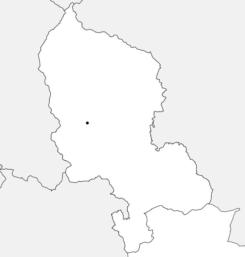 Carte vierge du Territoire de Belfort