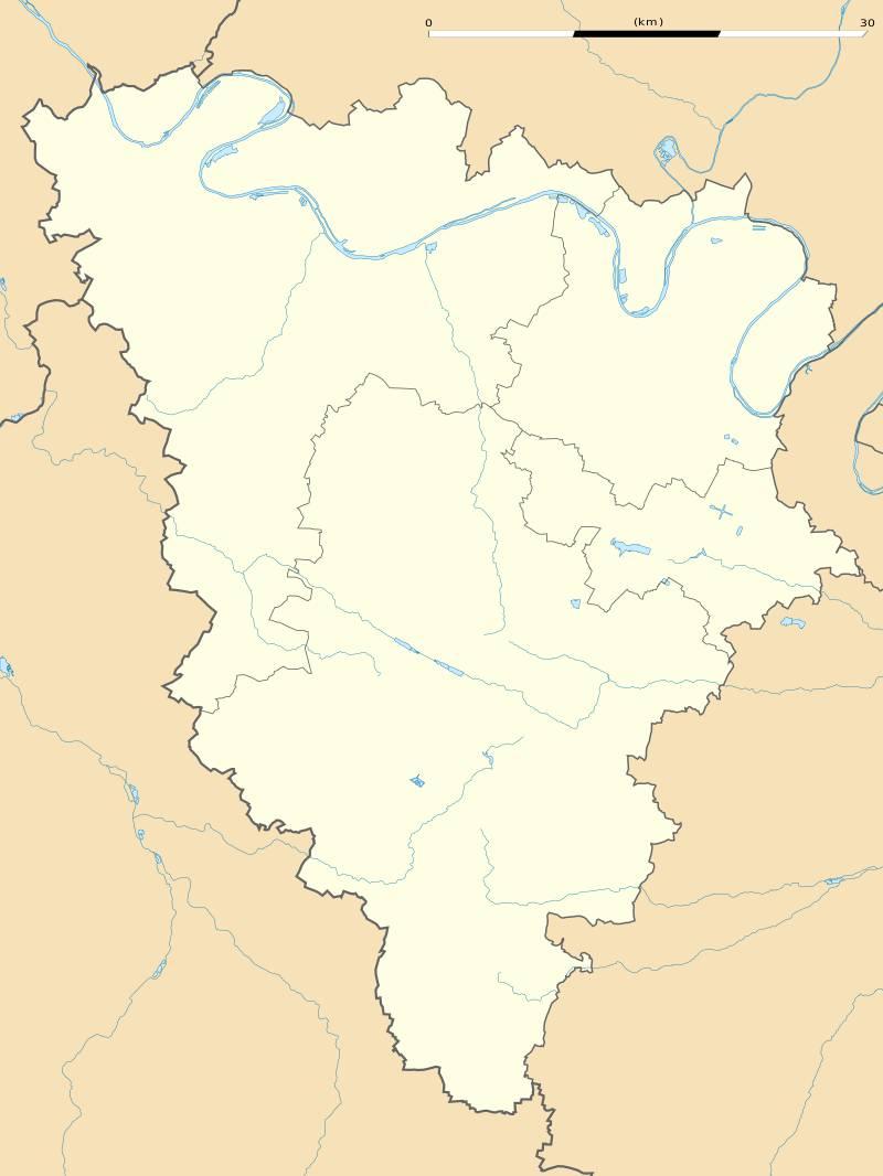 Carte des Yvelines vierge