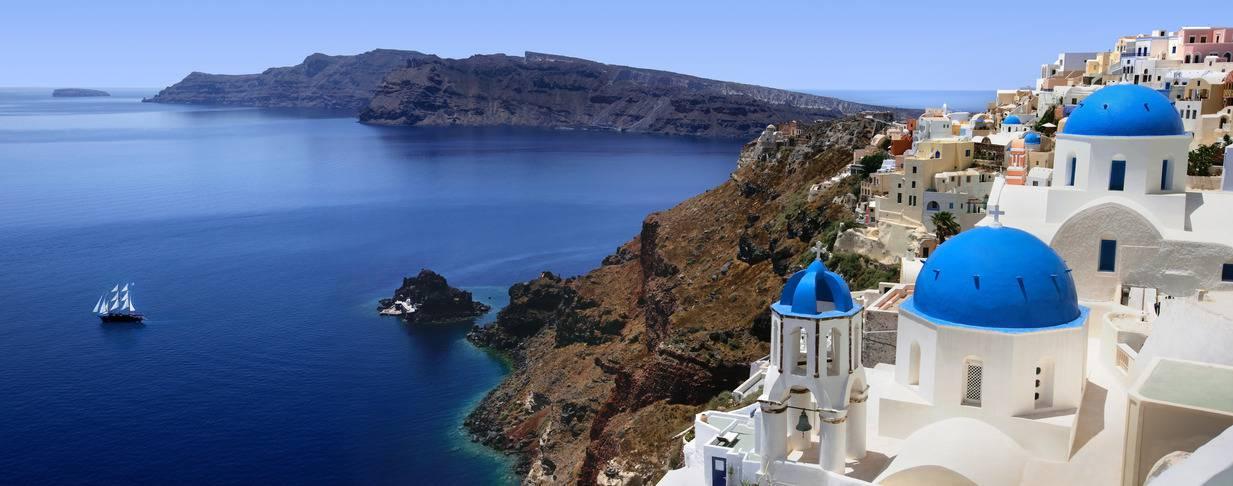 Découvrir les Cyclades à Santorin