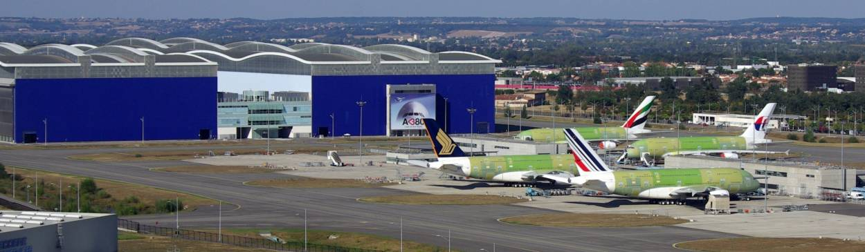 Site Airbus à Toulouse