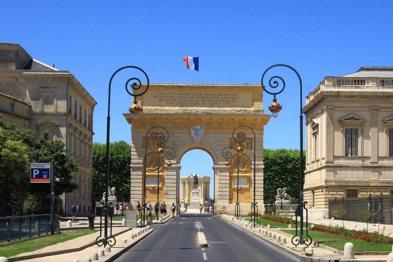 Arc de Triomphe - Visiter Montpellier