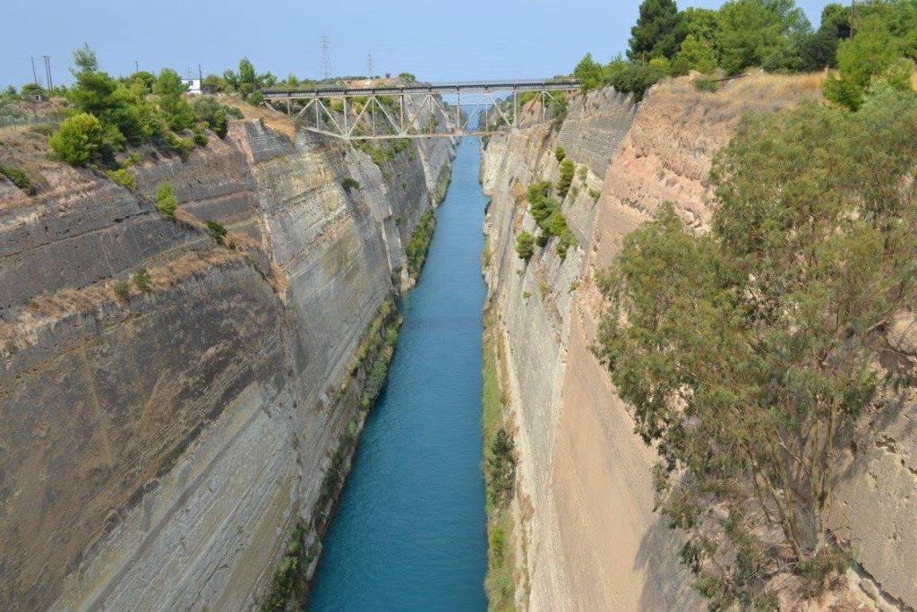 Canal de Corinthe - Grèce classique