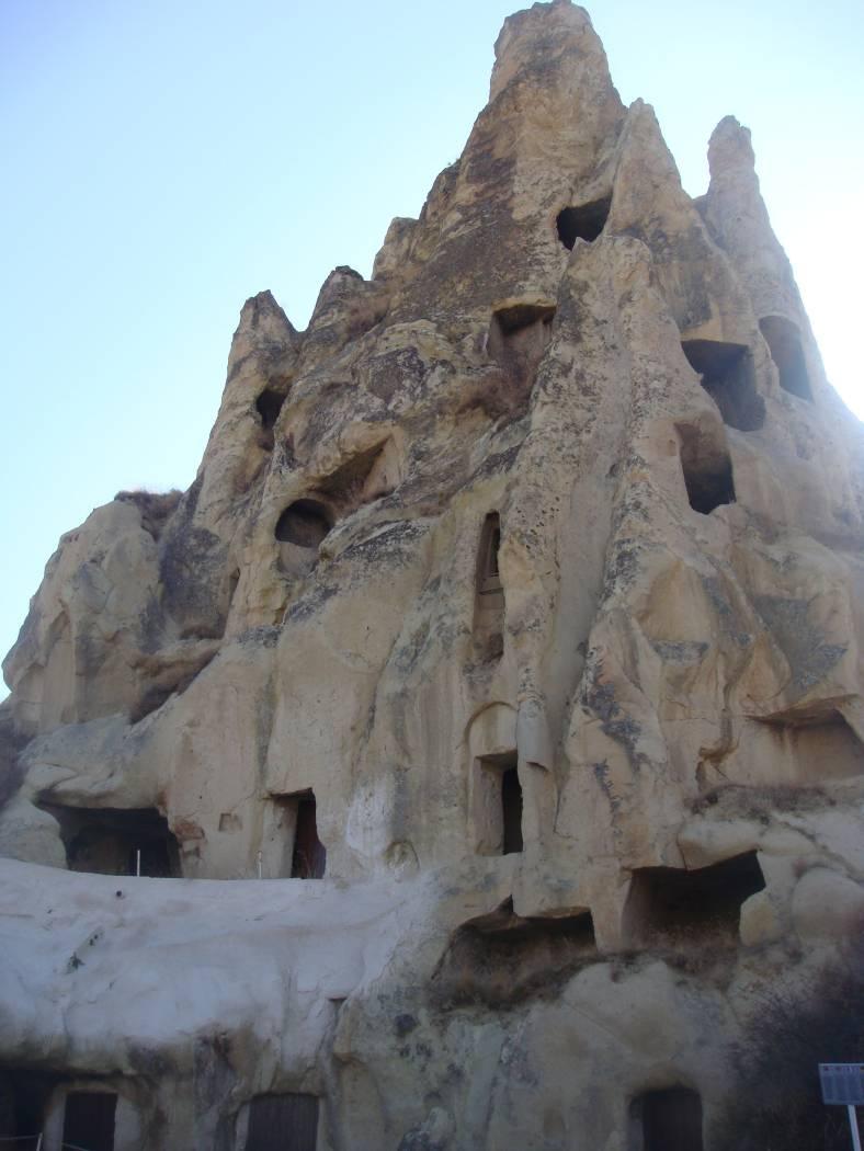 Cappadoce - Ville dans la roche