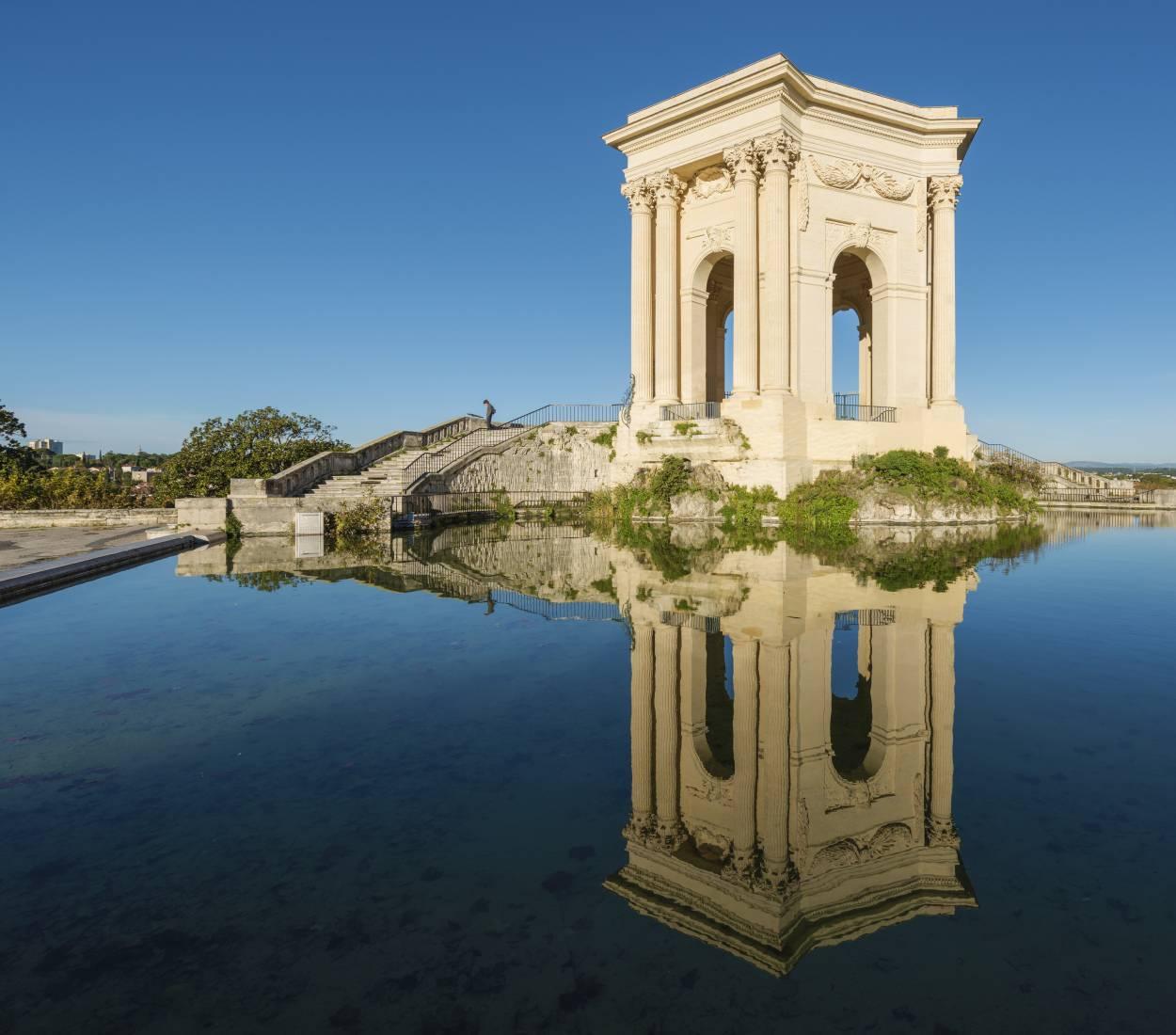 Place du Peyrou - Chateau d'eau à Montpellier