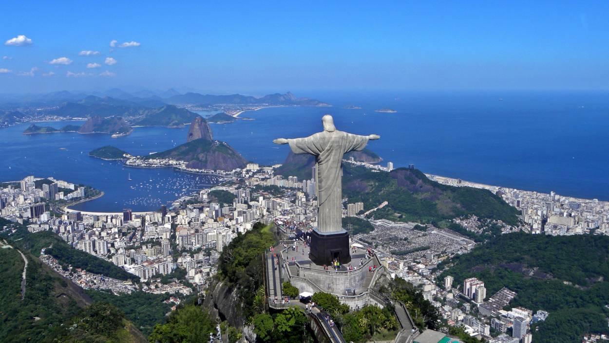 Christ rédempteur - Corcovado à Rio de Janeiro