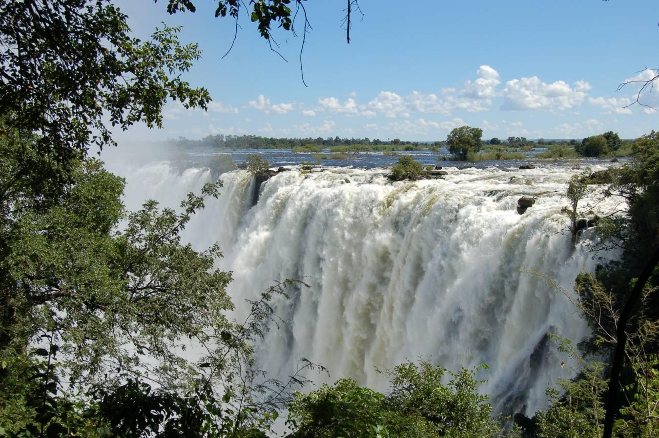Les chutes Victoria - Tourisme en Afrique