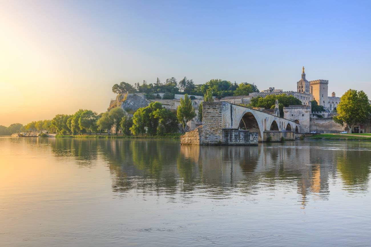 Le pont d'Avignon Saint Bénezet
