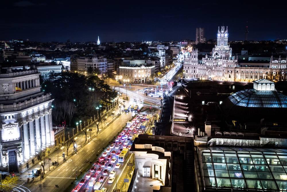Lune de miel à Madrid